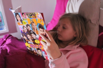 Catching up on the latest entertainment news.